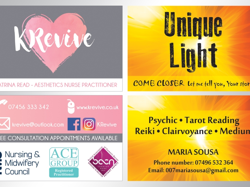 Krevive unique light business cards sara tyler reese portfolio krevive unique light business cards reheart Gallery